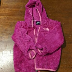 Northface pink jacket